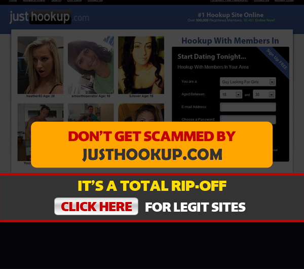 Are all hook up sites scams
