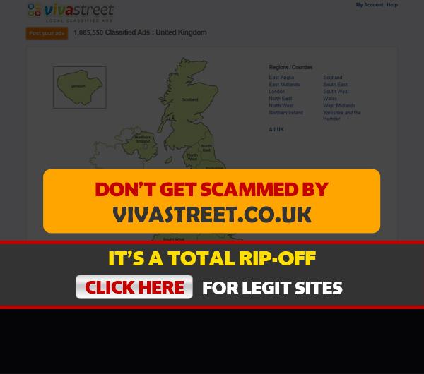vivastreet homepage screenshot
