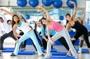 """""""Who would not want to join aerobics with these lovely women?"""""""